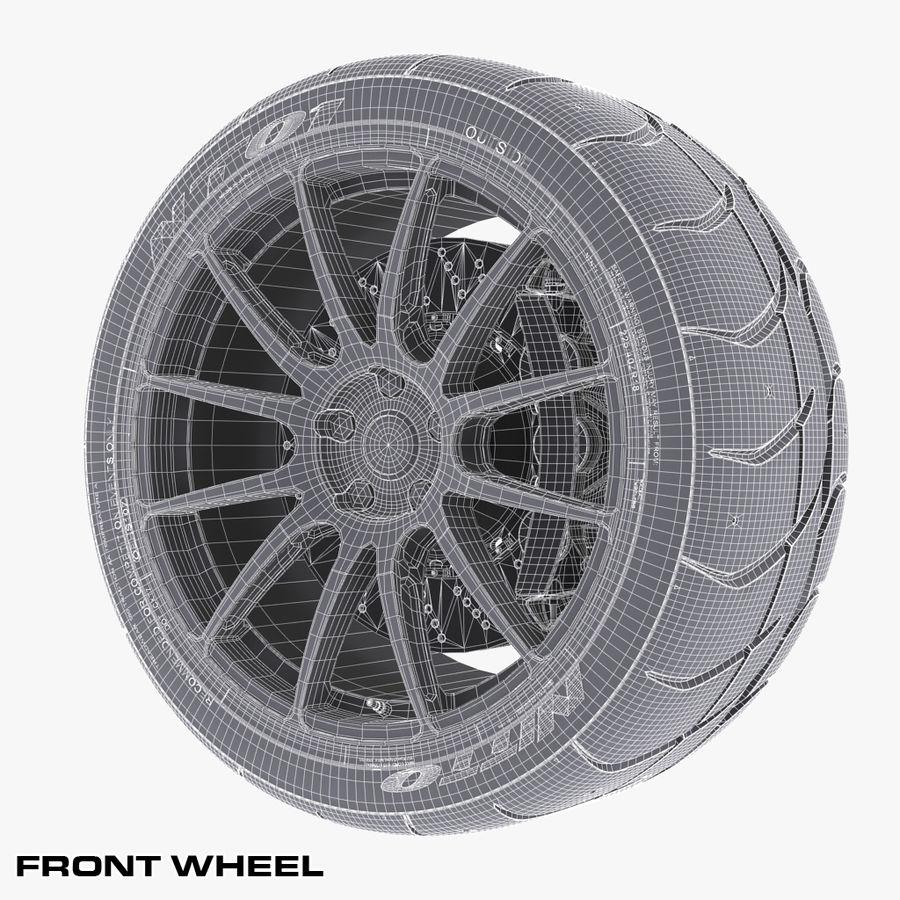 Volk Racing G12 royalty-free 3d model - Preview no. 11