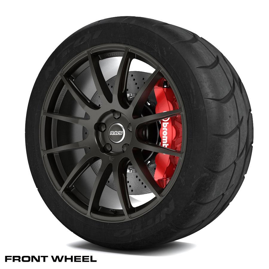 Volk Racing G12 royalty-free 3d model - Preview no. 4