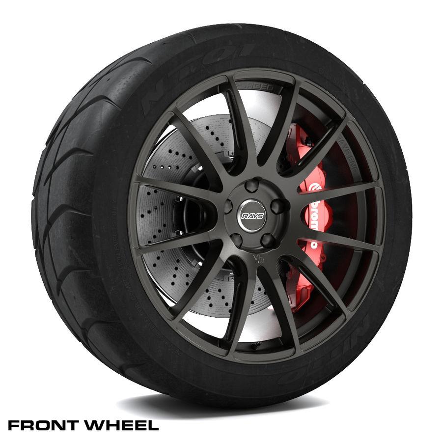 Volk Racing G12 royalty-free 3d model - Preview no. 1