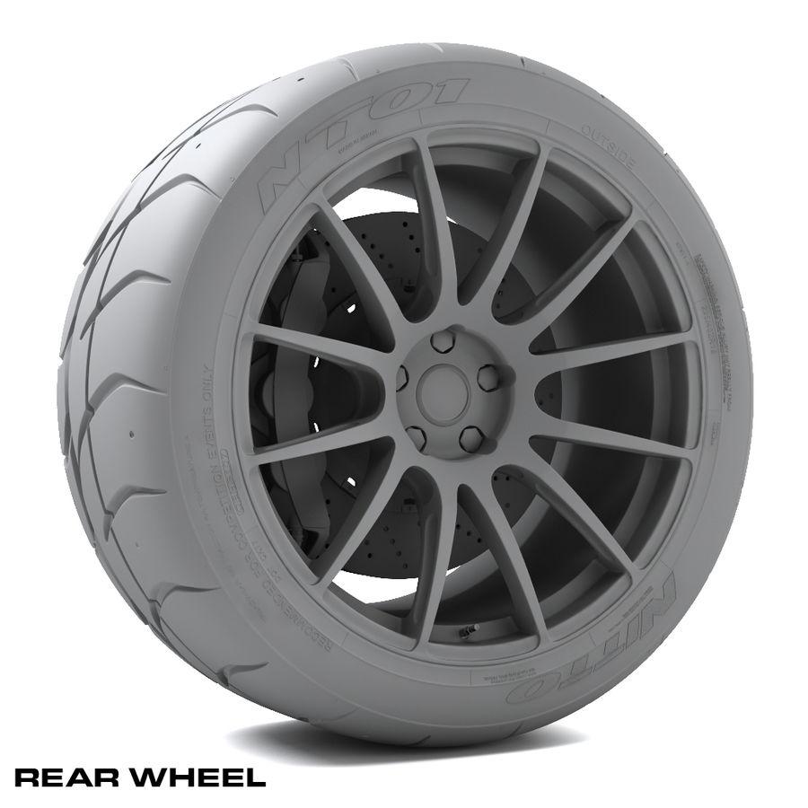 Volk Racing G12 royalty-free 3d model - Preview no. 12