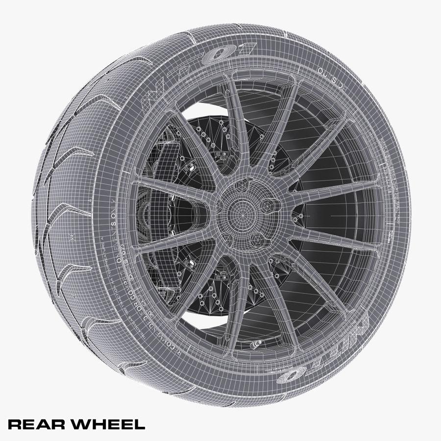 Volk Racing G12 royalty-free 3d model - Preview no. 13