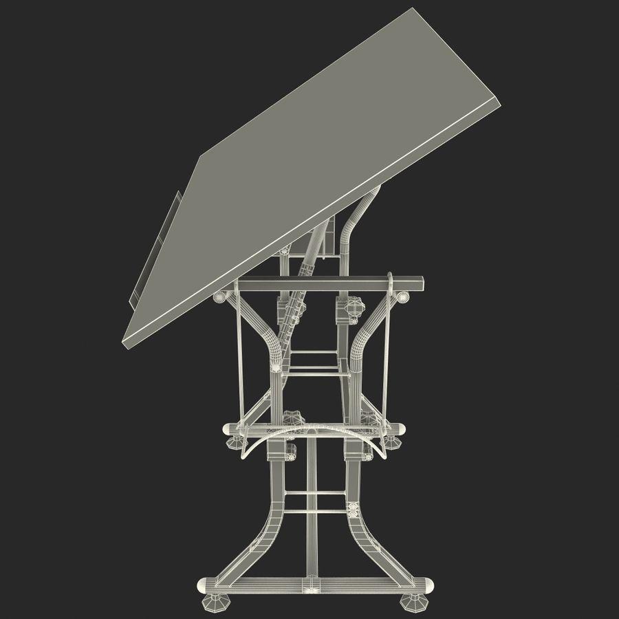 Stół Martin Ashley Art Hobby royalty-free 3d model - Preview no. 18