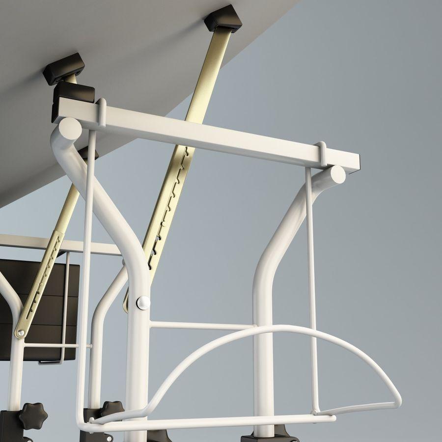 Stół Martin Ashley Art Hobby royalty-free 3d model - Preview no. 10