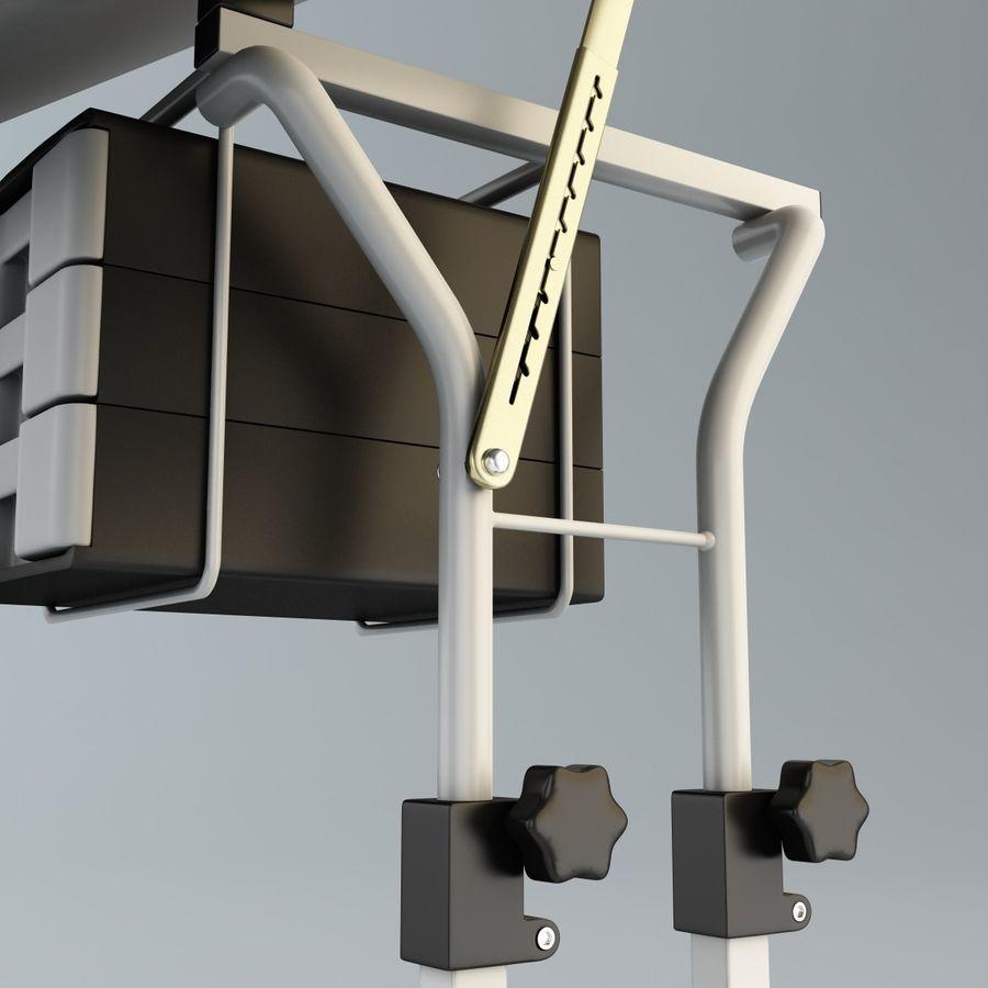 Stół Martin Ashley Art Hobby royalty-free 3d model - Preview no. 12