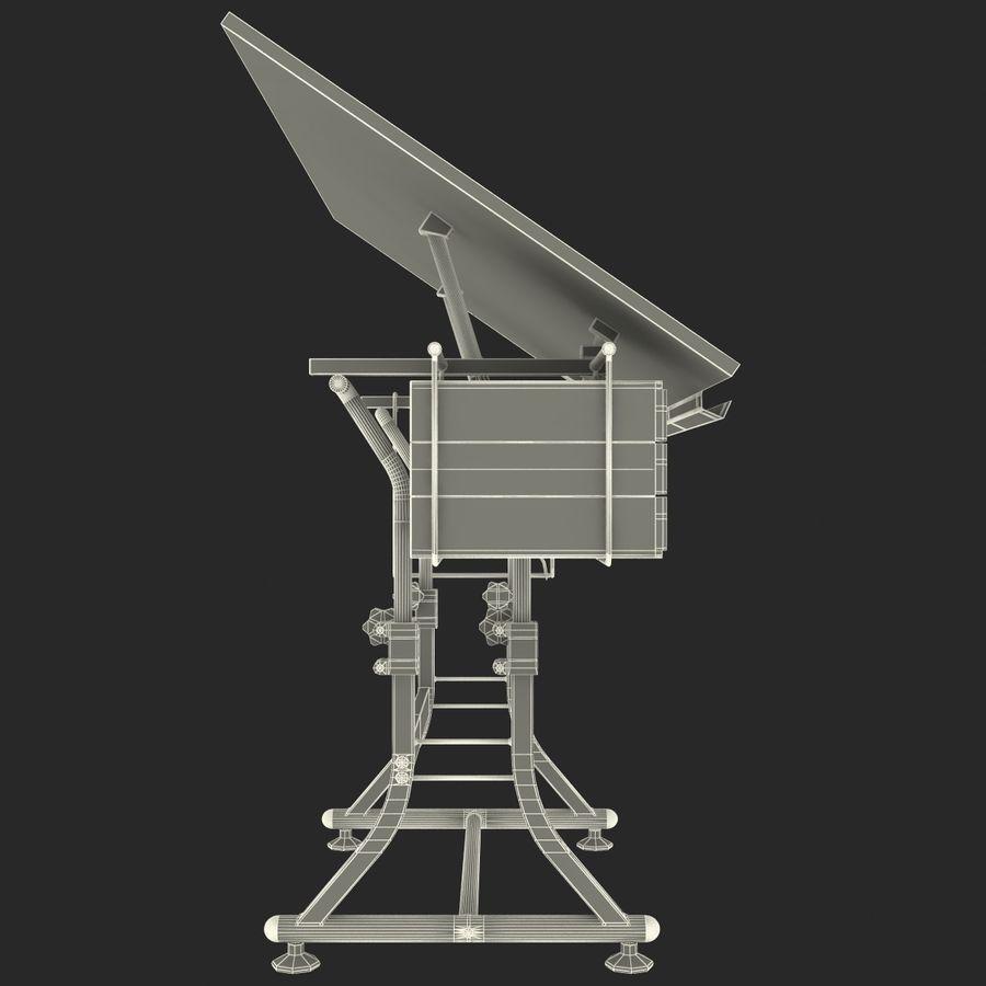 Stół Martin Ashley Art Hobby royalty-free 3d model - Preview no. 20