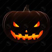 Pumpkin_posing_4 modelo 3d