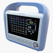 Bedside Patient Monitor 3d model