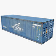 Container NYK LINE 3d model