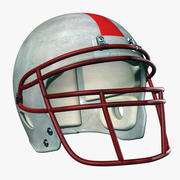 Helmet American Football 3d model