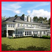 Maison de luxe américaine 04 3d model