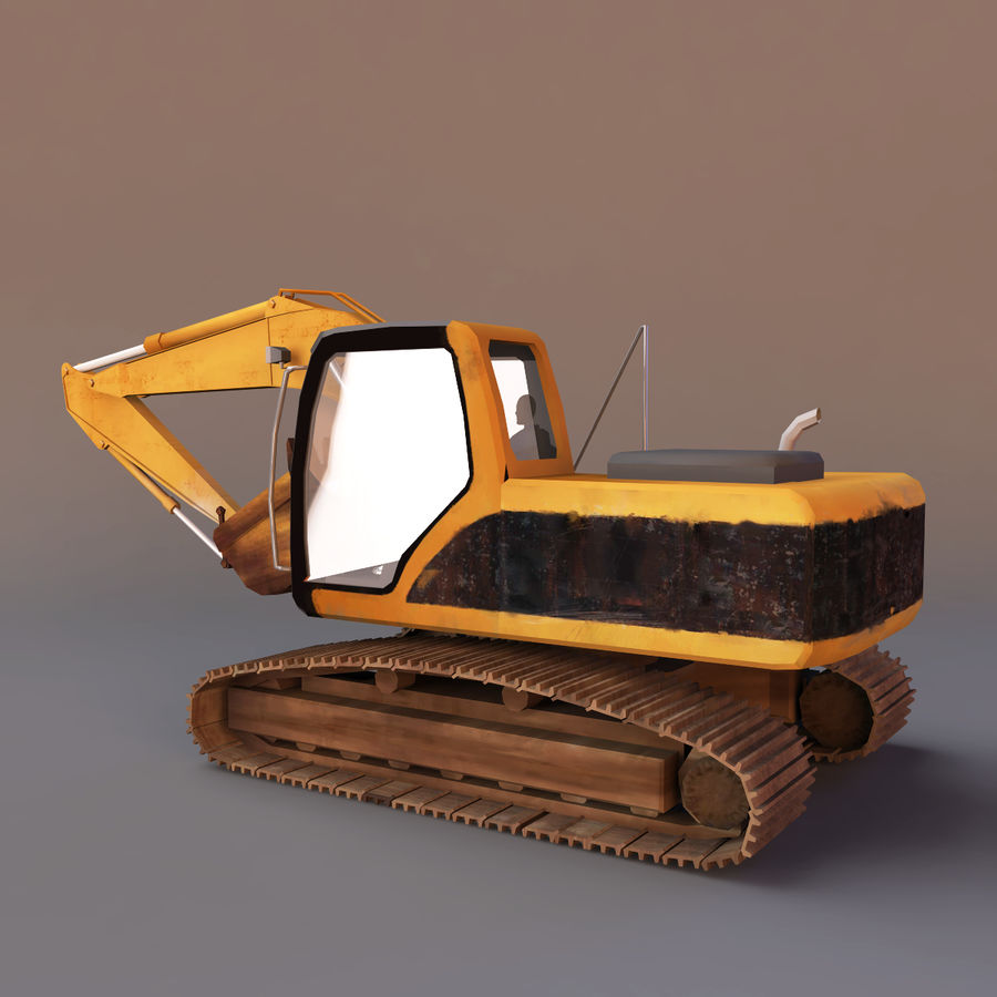 Graafmachine royalty-free 3d model - Preview no. 5