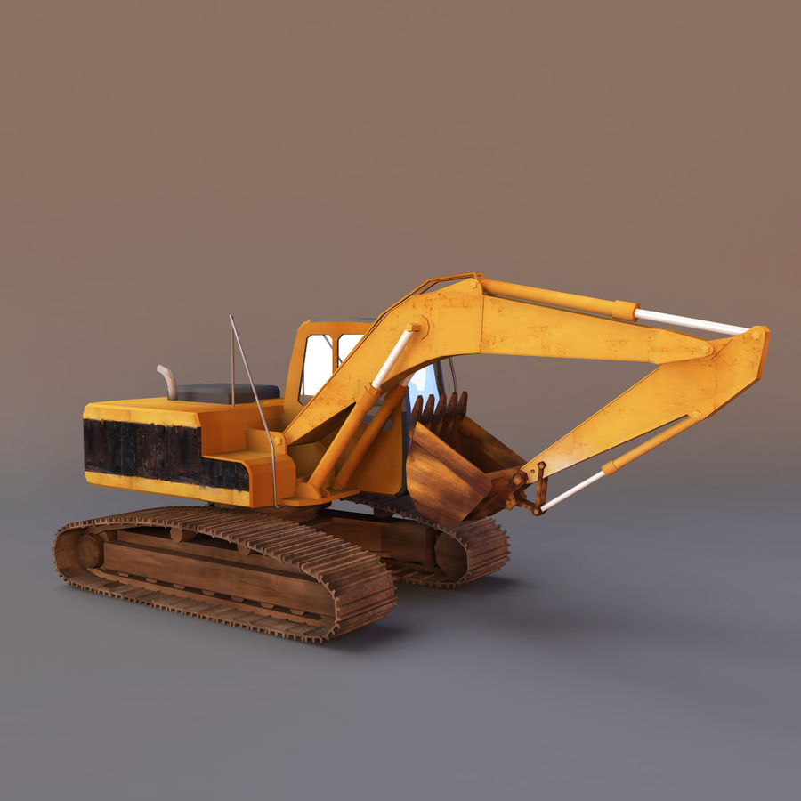 Graafmachine royalty-free 3d model - Preview no. 3