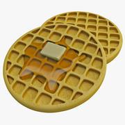 American Waffles 3d model