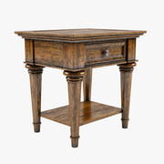 Classical Style End Table 3d model
