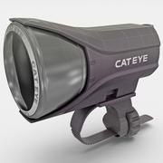 前自行车灯Cateye 3d model