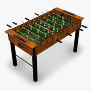 Soccer Table 3d model