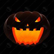 Pumpkin_posing_3 modelo 3d