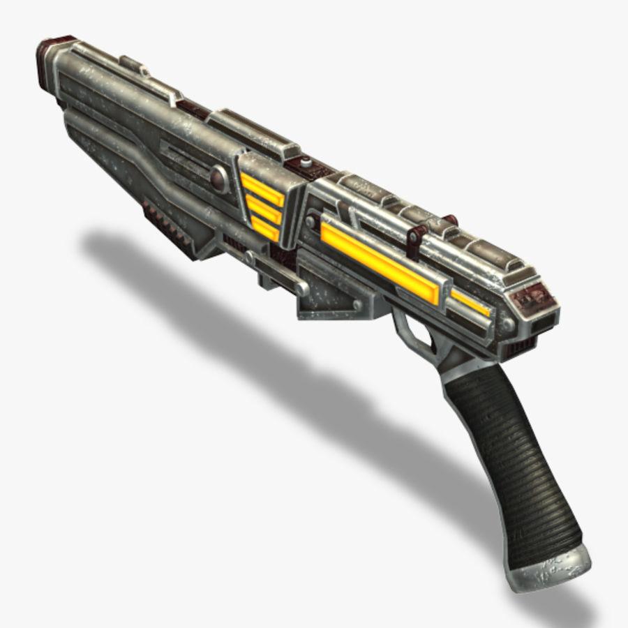 Shotgun (Rigged) royalty-free 3d model - Preview no. 10