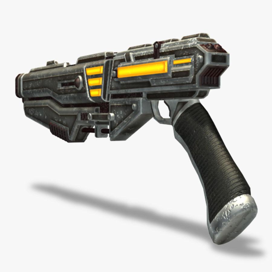 Shotgun (Rigged) royalty-free 3d model - Preview no. 7