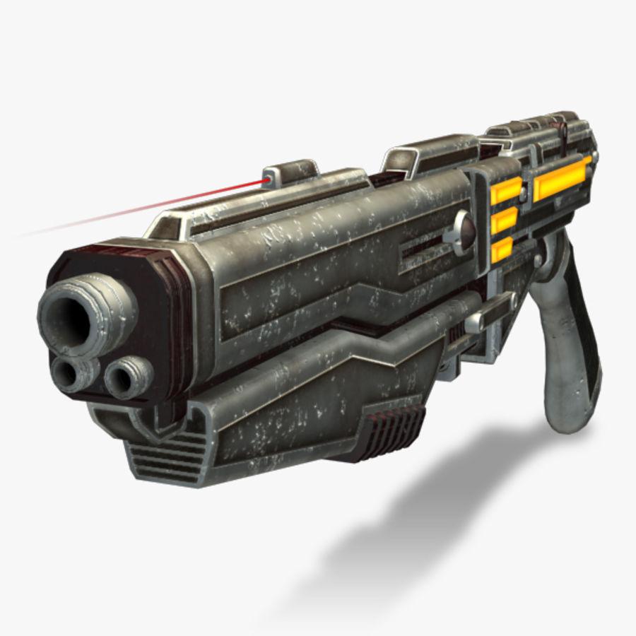 Shotgun (Rigged) royalty-free 3d model - Preview no. 1