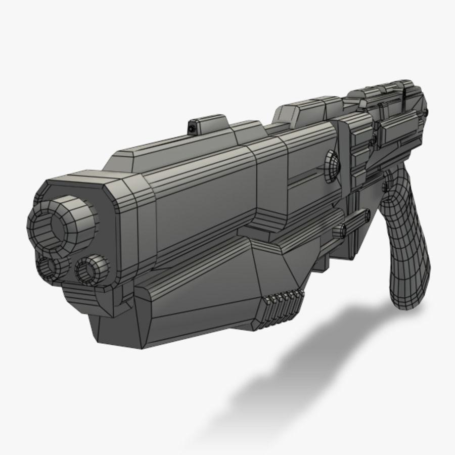 Shotgun (Rigged) royalty-free 3d model - Preview no. 4