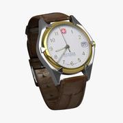 Handwatch Wenger schweiziska armén 3d model
