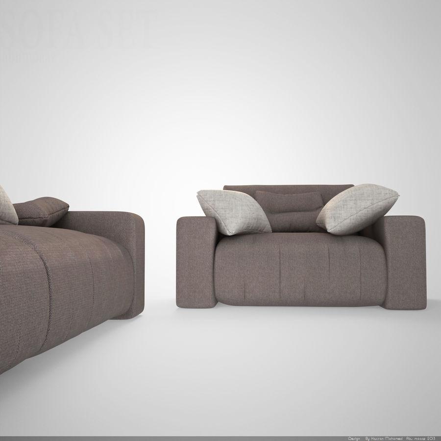 Enjoyable Sofa Set Modern 005 3D Model 30 Fbx 3Ds Max Free3D Inzonedesignstudio Interior Chair Design Inzonedesignstudiocom