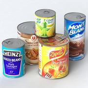 CANNED FOOD SAMMLUNG 3d model