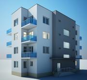 Gebäude modern 3d model