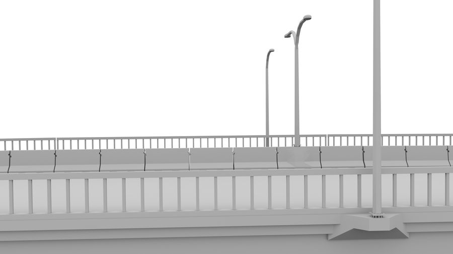 Bridge royalty-free 3d model - Preview no. 6