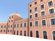 Casa de cortiço 1 3d model