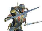 Medieval Alien Knight 3d model