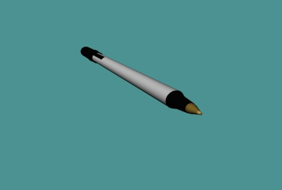 Penna royalty-free 3d model - Preview no. 3