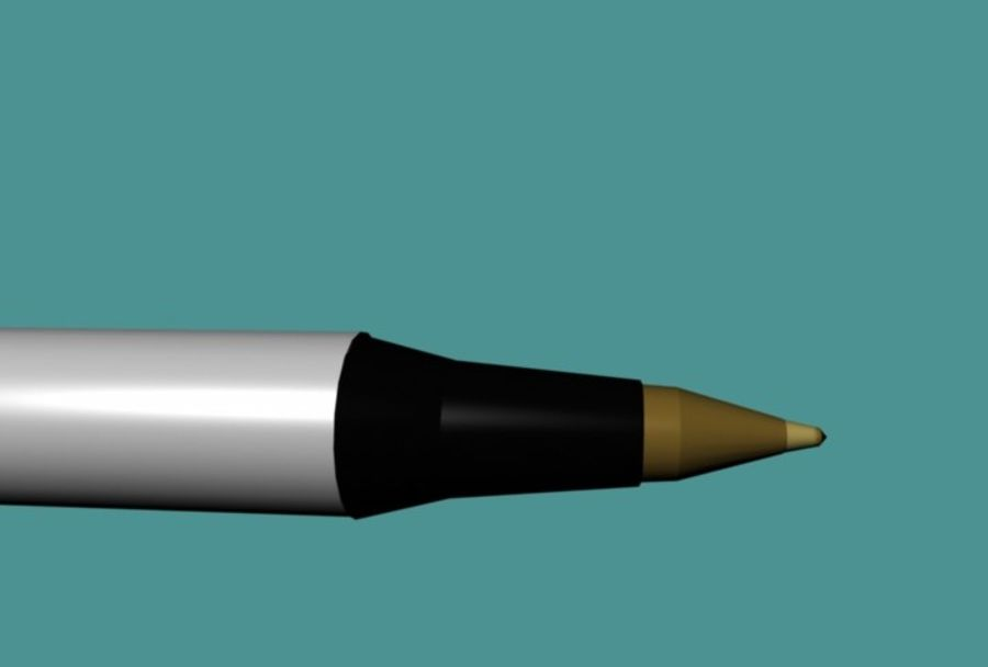 Penna royalty-free 3d model - Preview no. 4