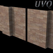 Marble wall 3d model