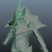 modèle de chevalier 3d model