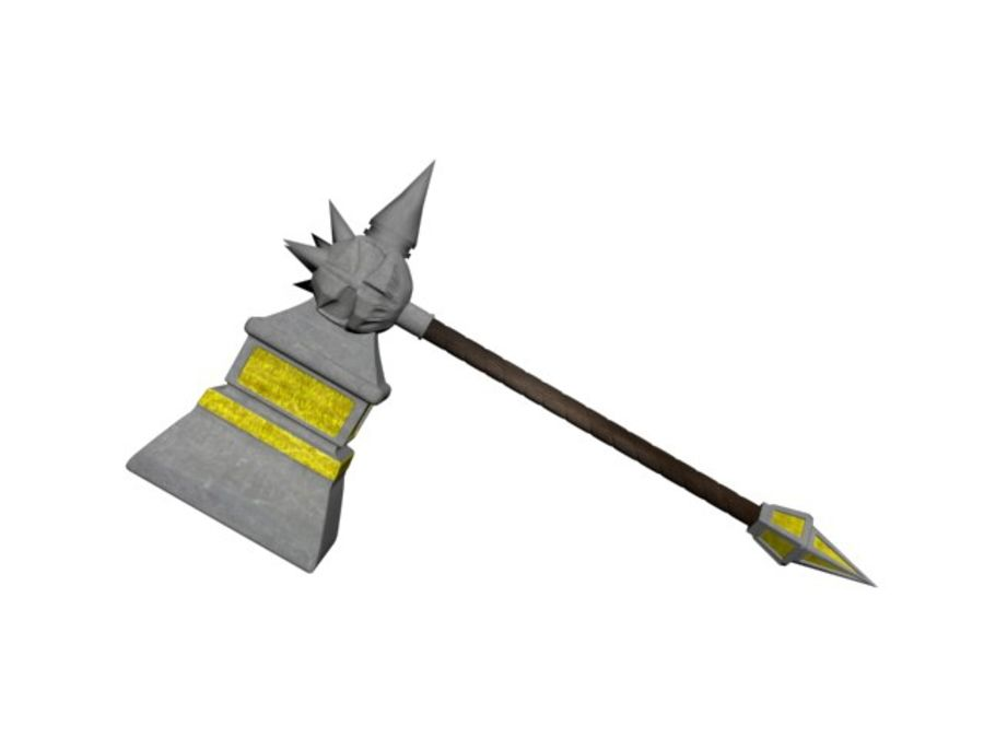 武器 royalty-free 3d model - Preview no. 5