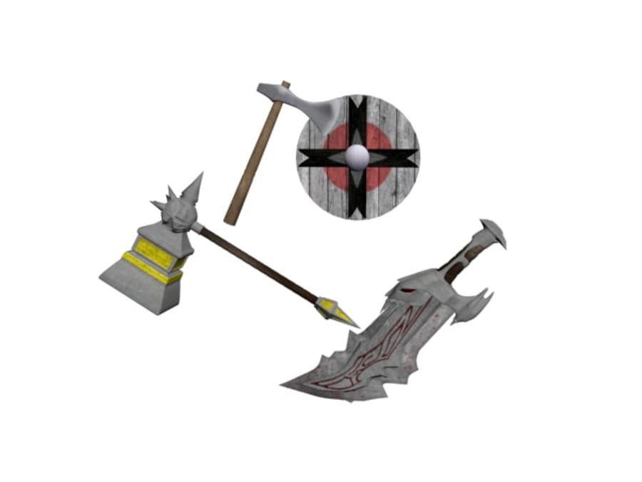 武器 royalty-free 3d model - Preview no. 1