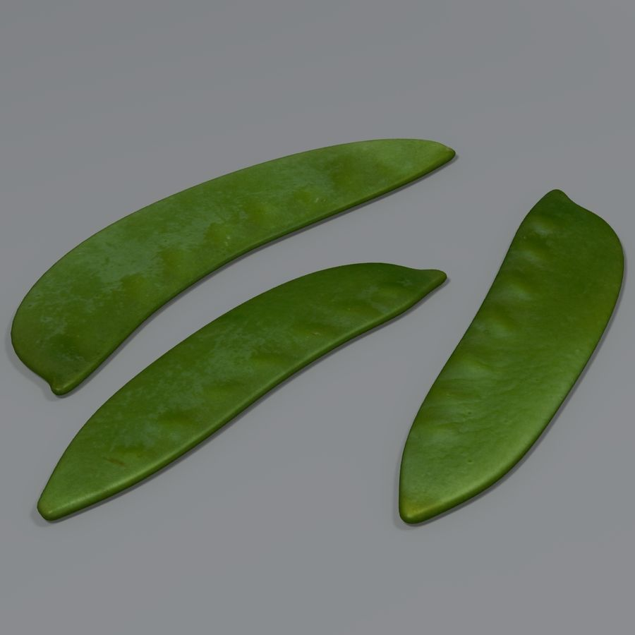 Mange tout royalty-free 3d model - Preview no. 2