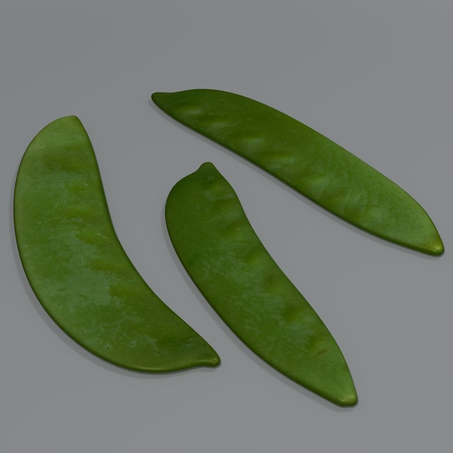 Mange tout royalty-free 3d model - Preview no. 1