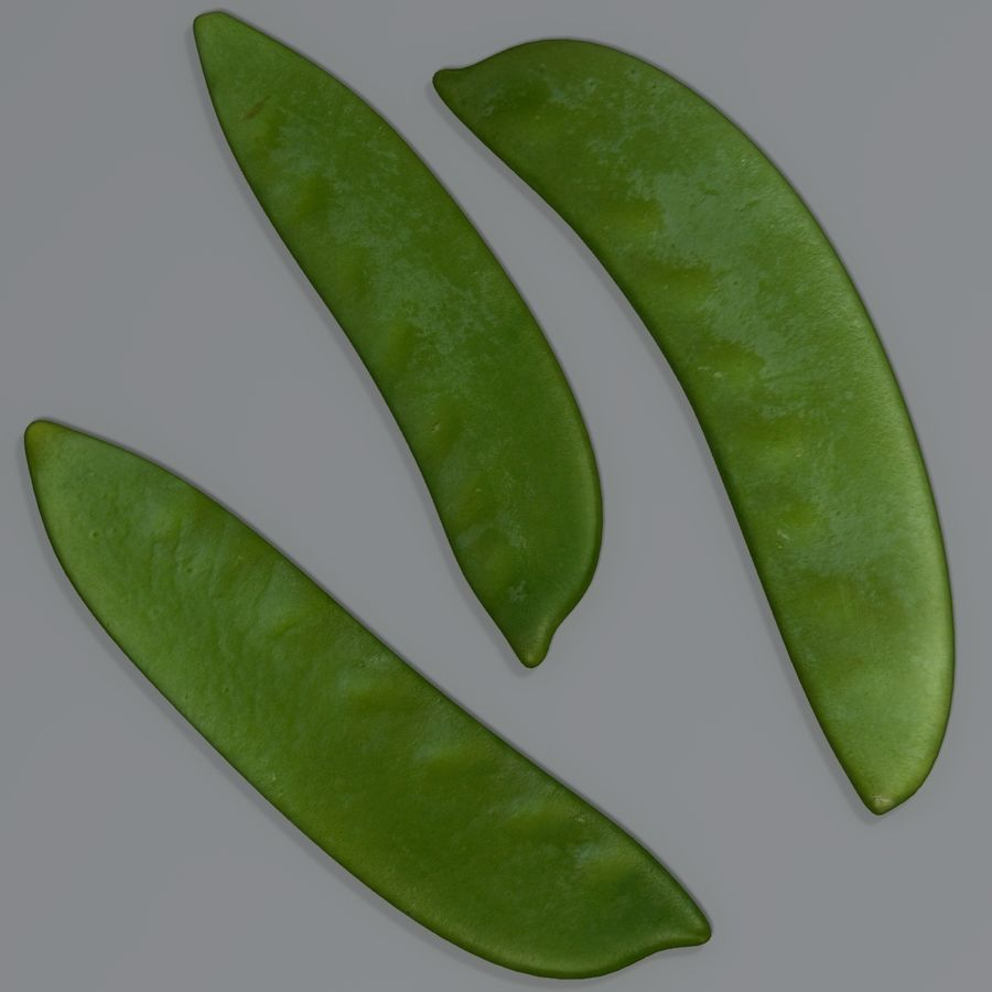 Mange tout royalty-free 3d model - Preview no. 4