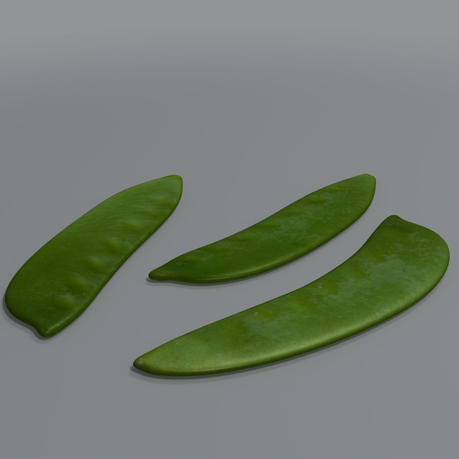 Mange tout royalty-free 3d model - Preview no. 5