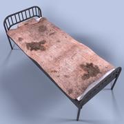 Jail Bed 3d model