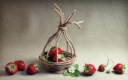 Strawberries 3d model