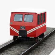 TCDD Dresin Railcar 3d model