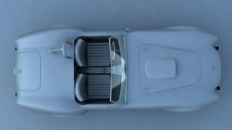 Shelby AC Cobra royalty-free modelo 3d - Preview no. 9