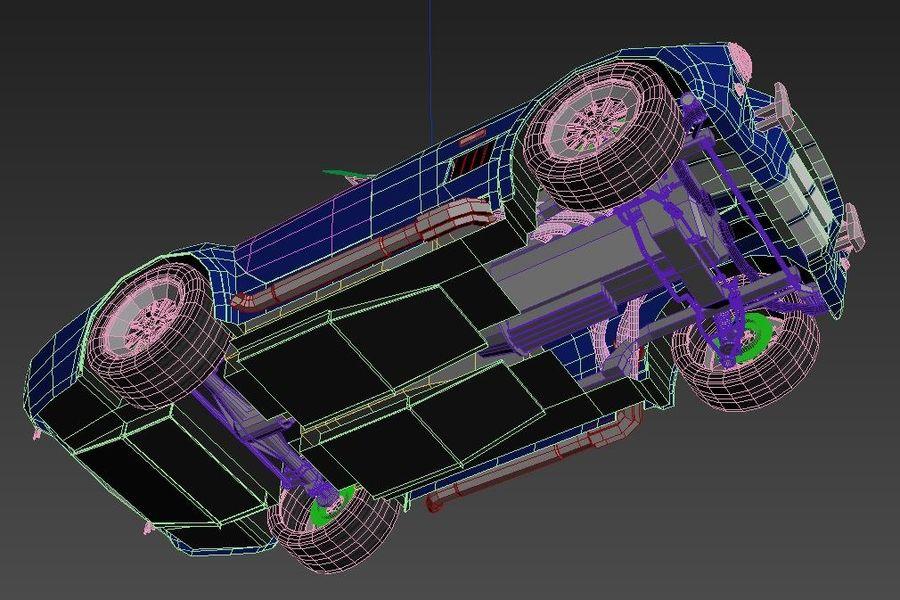 Shelby AC Cobra royalty-free modelo 3d - Preview no. 14