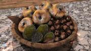 Mold Fruit Basket 3d model
