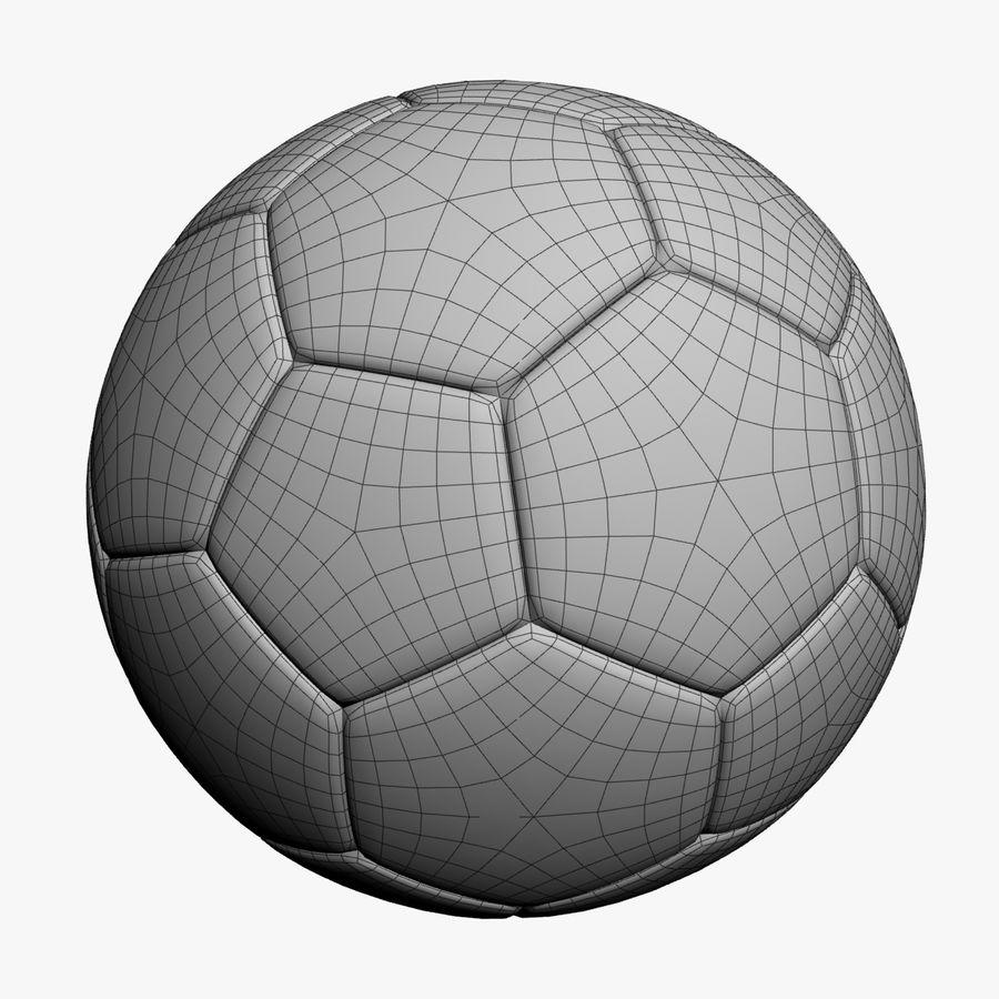 Piłka nożna royalty-free 3d model - Preview no. 3