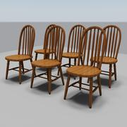 Dining Room Chairs 3d model